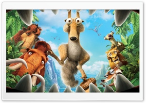 Ice Age 3 HD Wide Wallpaper for Widescreen