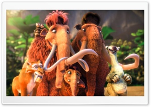 Ice Age 3 Dawn of the Dinosaurs HD Wide Wallpaper for 4K UHD Widescreen desktop & smartphone