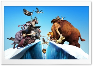 Ice Age: Continental Drift HD Wide Wallpaper for 4K UHD Widescreen desktop & smartphone