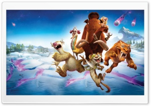 Ice Age Collision Course HD Wide Wallpaper for Widescreen