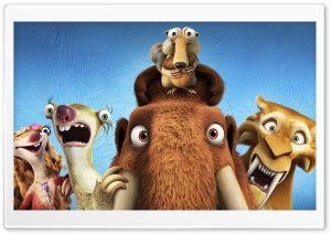 Ice Age Collision Course Ultra HD Wallpaper for 4K UHD Widescreen desktop, tablet & smartphone