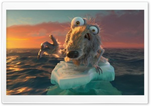 Ice Age Continental Drift HD Wide Wallpaper for Widescreen