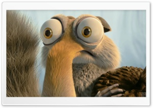 Ice Age Scrat In Love HD Wide Wallpaper for Widescreen