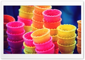 Ice Cream Cones HD Wide Wallpaper for Widescreen