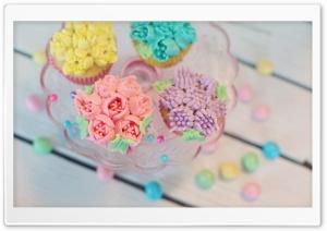 Ice Cream Cupcakes Ultra HD Wallpaper for 4K UHD Widescreen desktop, tablet & smartphone