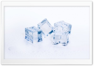 Ice Cubes HD Wide Wallpaper for Widescreen