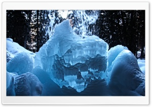 Ice Fortress HD Wide Wallpaper for Widescreen