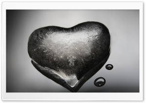 Ice Heart HD Wide Wallpaper for Widescreen