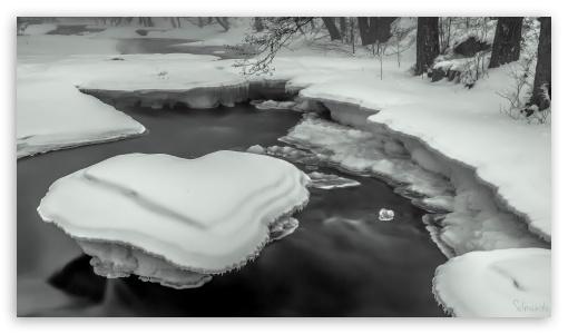 Ice Heart River ❤ 4K UHD Wallpaper for 4K UHD 16:9 Ultra High Definition 2160p 1440p 1080p 900p 720p ; UHD 16:9 2160p 1440p 1080p 900p 720p ; Tablet 1:1 ; Mobile 16:9 - 2160p 1440p 1080p 900p 720p ;