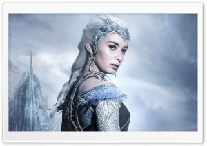 Ice Queen The Huntsman Winters War HD Wide Wallpaper for 4K UHD Widescreen desktop & smartphone