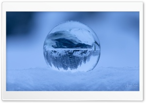 Ice Sphere Ultra HD Wallpaper for 4K UHD Widescreen desktop, tablet & smartphone