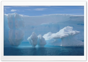 Iceberg Melting HD Wide Wallpaper for Widescreen
