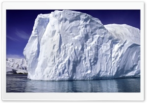 Iceberg Scene HD Wide Wallpaper for Widescreen