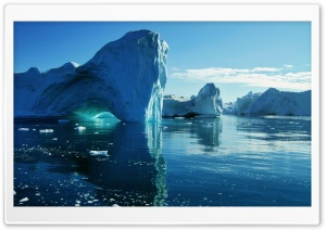 Icebergs HD Wide Wallpaper for Widescreen
