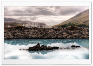 Iceland Lake HD Wide Wallpaper for Widescreen
