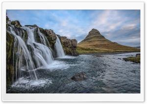 Iceland Waterfall Nature Ultra HD Wallpaper for 4K UHD Widescreen desktop, tablet & smartphone