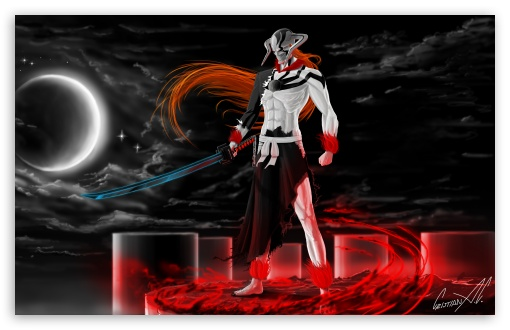 Ichigo Vasto Lorde (Bleach) HD wallpaper for Wide 16:10 5:3 Widescreen WHXGA WQXGA WUXGA WXGA WGA ; HD 16:9 High Definition WQHD QWXGA 1080p 900p 720p QHD nHD ; UHD 16:9 WQHD QWXGA 1080p 900p 720p QHD nHD ; Mobile 5:3 16:9 - WGA WQHD QWXGA 1080p 900p 720p QHD nHD ;