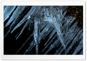 Icicle Disarray HD Wide Wallpaper for 4K UHD Widescreen desktop & smartphone