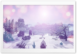 IcyVillage Ultra HD Wallpaper for 4K UHD Widescreen desktop, tablet & smartphone