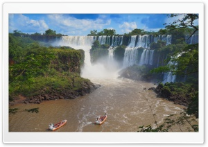 Iguazu Falls HD Wide Wallpaper for Widescreen