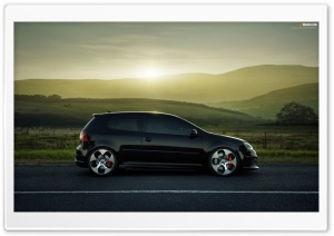illektronik's Golf GTI MKV HD Wide Wallpaper for Widescreen