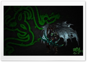 Illidan Stormrage Razer HD Wide Wallpaper for 4K UHD Widescreen desktop & smartphone