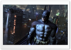 I'm Batman - Arkham City HD Wide Wallpaper for 4K UHD Widescreen desktop & smartphone