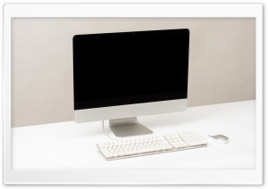 iMac Computer Screen Desk Ultra HD Wallpaper for 4K UHD Widescreen desktop, tablet & smartphone