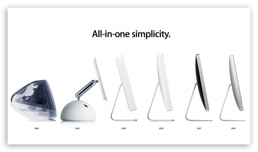 Download IMac Evolution HD Wallpaper