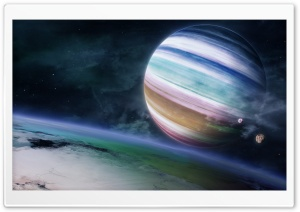 Imaginary Planet HD Wide Wallpaper for Widescreen