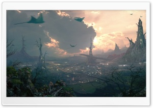 Imaginary World HD Wide Wallpaper for Widescreen