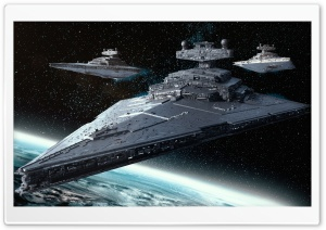 Imperial-class Star Destroyer Ultra HD Wallpaper for 4K UHD Widescreen desktop, tablet & smartphone