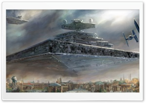Imperial Super Star Destroyer HD Wide Wallpaper for Widescreen