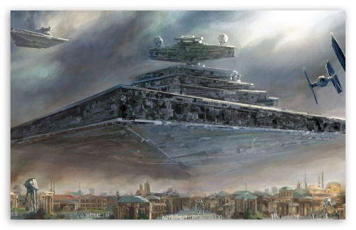 Imperial Super Star Destroyer HD wallpaper for Wide 16:10 5:3 Widescreen WHXGA WQXGA WUXGA WXGA WGA ; Mobile 5:3 - WGA ;