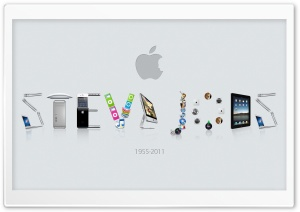 In Memoriam Steve Jobs HD Wide Wallpaper for 4K UHD Widescreen desktop & smartphone