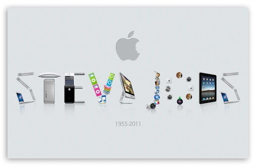 In Memoriam Steve Jobs HD wallpaper for Wide 16:10 5:3 Widescreen WHXGA WQXGA WUXGA WXGA WGA ; HD 16:9 High Definition WQHD QWXGA 1080p 900p 720p QHD nHD ; Standard 3:2 Fullscreen DVGA HVGA HQVGA devices ( Apple PowerBook G4 iPhone 4 3G 3GS iPod Touch ) ; Mobile 5:3 3:2 16:9 - WGA DVGA HVGA HQVGA devices ( Apple PowerBook G4 iPhone 4 3G 3GS iPod Touch ) WQHD QWXGA 1080p 900p 720p QHD nHD ; Dual 5:4 QSXGA SXGA ;