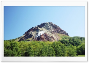 Inactive Volcano, Japan HD Wide Wallpaper for Widescreen