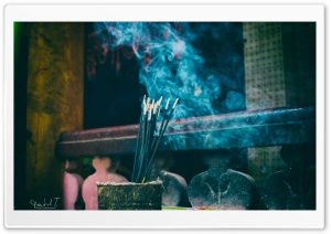 Incense Stick HD Wide Wallpaper for Widescreen
