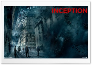 Inception - Folding Paris HD Wide Wallpaper for Widescreen