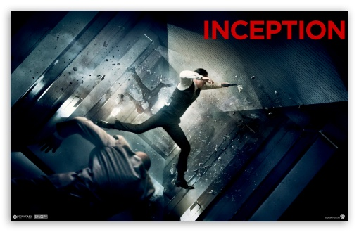 Inception - Zero Gravity HD wallpaper for Wide 16:10 5:3 Widescreen WHXGA WQXGA WUXGA WXGA WGA ; Mobile WVGA - WVGA WQVGA Smartphone ( HTC Samsung Sony Ericsson LG Vertu MIO ) ;