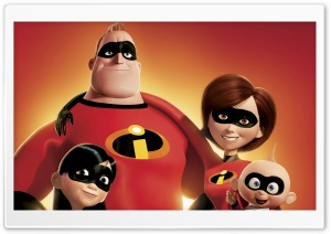 Incredibles HD Wide Wallpaper for Widescreen