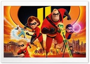 Incredibles 2 2018 HD Wide Wallpaper for 4K UHD Widescreen desktop & smartphone
