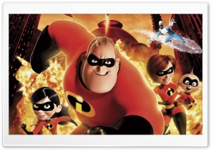 Incredibles Movie 1 Ultra HD Wallpaper for 4K UHD Widescreen desktop, tablet & smartphone