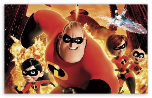 Incredibles Movie 1 HD wallpaper for Wide 16:10 5:3 Widescreen WHXGA WQXGA WUXGA WXGA WGA ; HD 16:9 High Definition WQHD QWXGA 1080p 900p 720p QHD nHD ; Standard 3:2 Fullscreen DVGA HVGA HQVGA devices ( Apple PowerBook G4 iPhone 4 3G 3GS iPod Touch ) ; Mobile 5:3 3:2 16:9 - WGA DVGA HVGA HQVGA devices ( Apple PowerBook G4 iPhone 4 3G 3GS iPod Touch ) WQHD QWXGA 1080p 900p 720p QHD nHD ;