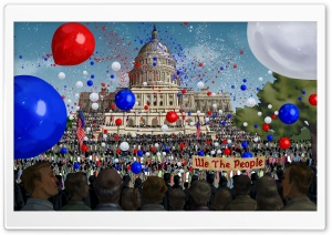 Independence Day Celebration Ultra HD Wallpaper for 4K UHD Widescreen desktop, tablet & smartphone