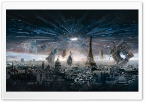Independence Day Resurgence Paris HD Wide Wallpaper for Widescreen