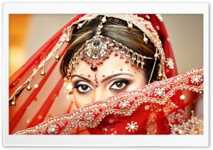 Indian Bride HD Wide Wallpaper for Widescreen