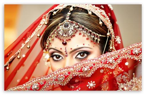 Download Indian Bride HD Wallpaper