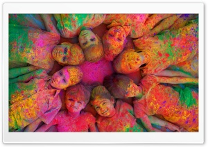 indian Holi Festival By K23 HD Wide Wallpaper for Widescreen