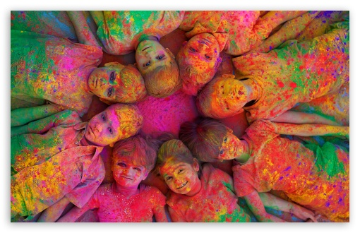Download indian Holi Festival By K23 HD Wallpaper